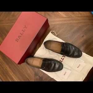 BALLY Men's Slip-on Loafers leather